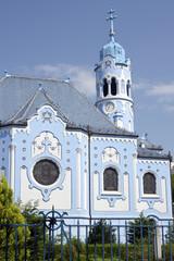 The art-deco St. Elisabeth (Blue) church in Bratislava