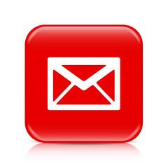 Red envelope button, icon