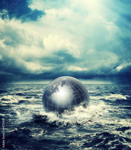 world in sea