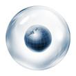 world inside bubble