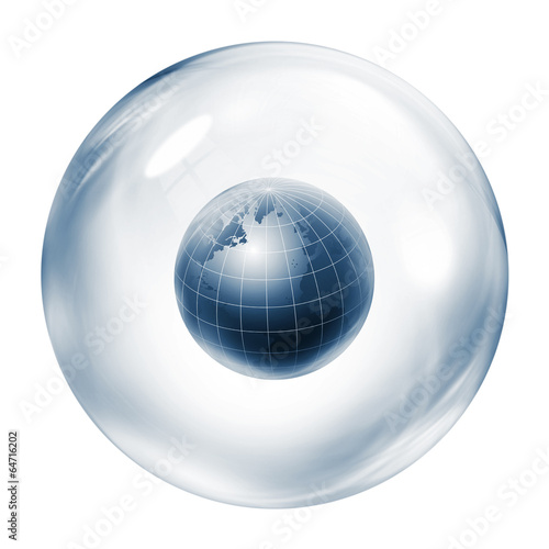 world inside bubble