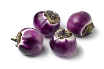 Round eggplants