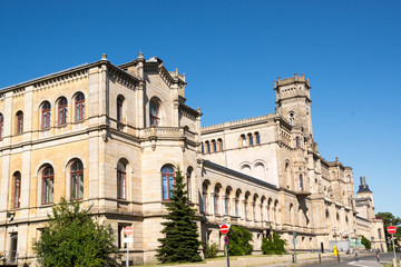 Outside view of the University of Hannover, Germany