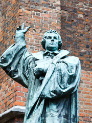 Statue of Martin Luther in front of Marktkirche, Hannover