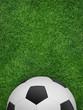 canvas print picture - Fußball-Plakat