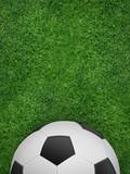 Fußball-Plakat