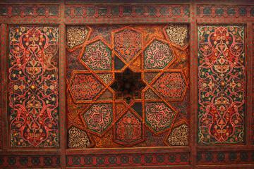 harem ceiling, Khiva