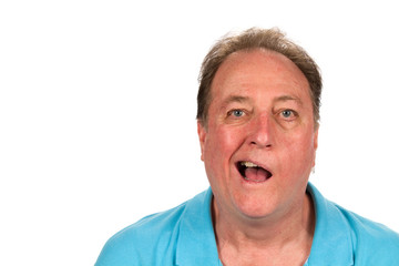 Man With Bell's Palsy