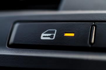 A car lock button