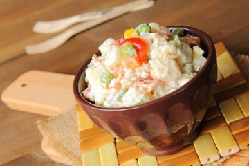 Russian salad. Ensaladilla rusa