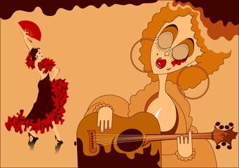 Spanish flamenco