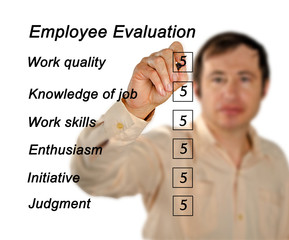 Employee evaluation
