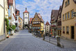 canvas print picture - Rothenburg ob der Tauber, Germany