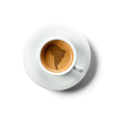 espresso coffe south america