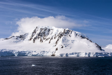 Blue Sky In Antarctica