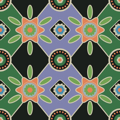 Seamless pattern wallpaper / textile