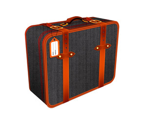 Travel suitcase, holiday concept