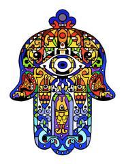 Jewish sacred amulet – hamsa