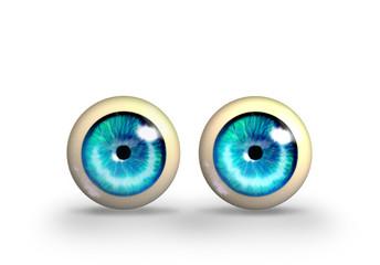 Toy eyes illustration