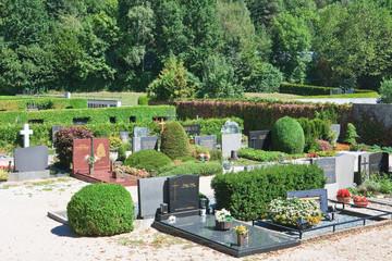 Catholic cemetery, Austria.
