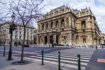 Budapest, Hungary. Building State Opera