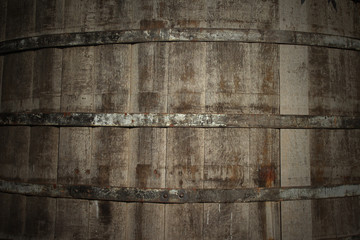 Hintergrund Weinfass