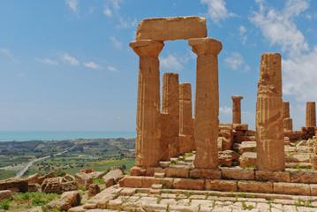 Temple d'Hera - Agrigento - Sicile