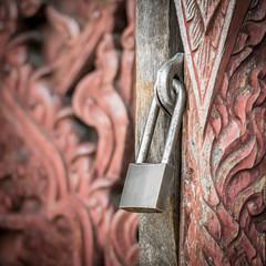 Padlock key