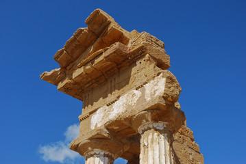 Temple des Dioscures - Agrigente - Sicile