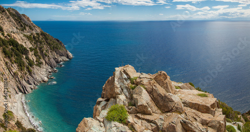 canvas print picture Insel Elba