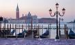 Venice - Waterfront and San Giorgio Maggiore