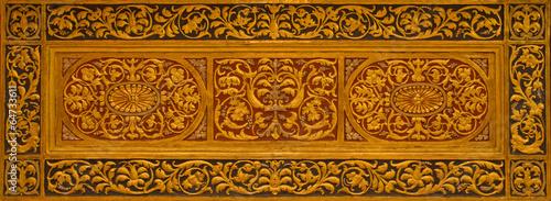 Bologna - Relief from side altar of church San Siro