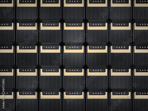 Amplifier background