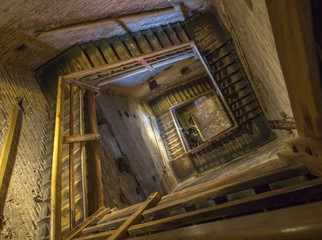 Bologna - Stairs of Torre Asinelli