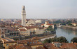 Verona - Duomo and Adige river and the town
