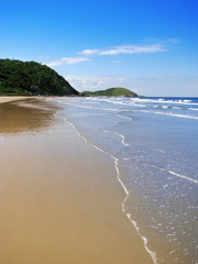 Brazil: Gorgeous desert wild beach at Ilha do Mel (Honey Island)
