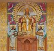 Vienna - Christ the King statue in Carmelites church