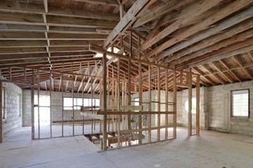 Home demolition interior photo