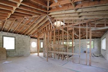 Stock image of home renovation