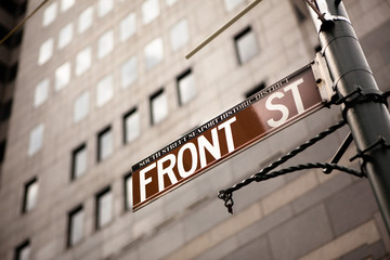 Front Street Sign