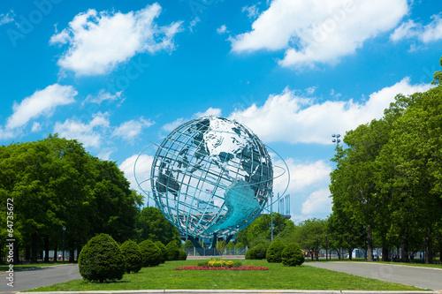 Foto op Aluminium Artistiek mon. 1964 New York World's Fair Unisphere in Flushing Meadows Park