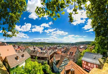 Ausblick über Marburg an der Lahn