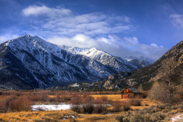 Wooden House In Mountain Valley - Twin Lakes, Colorado, USA