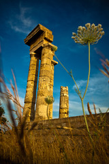 Acropolis Ruins in Rhodes, Greece