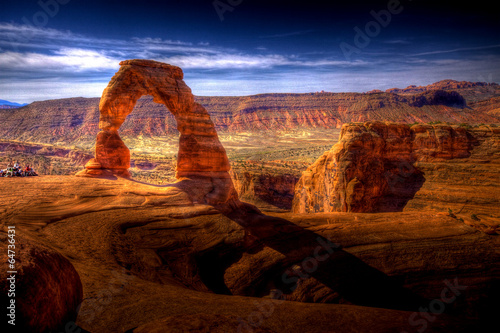 Papiers peints Sauvage Delicate Arch HDR - Utah, USA