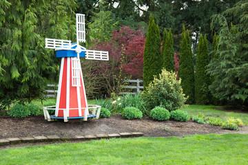 Windmill in Yard