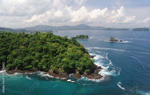 Papiers peints Amérique Centrale Aerial view of western Costa Rica