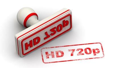 HD 720p. Seal and imprint