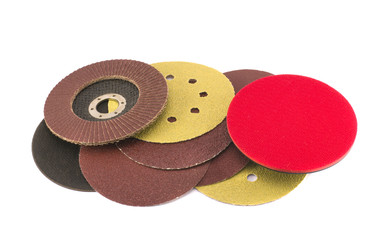 round special grinder sand discs collection for wood polish