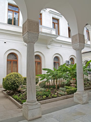 Crimea. Italian court yard of the Livadiysky palace
